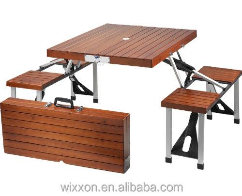 pliante en bois table de pique nique ensemble et banc ensemble table pliante id de produit. Black Bedroom Furniture Sets. Home Design Ideas