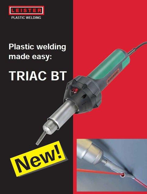 leister triac bt kit soudure plastique leister hot air plastic welding outils main dans. Black Bedroom Furniture Sets. Home Design Ideas