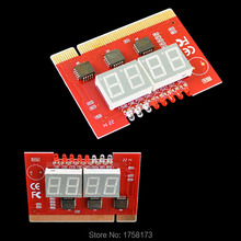 Motherboard Analysis LCD Display PCI Computer PC Analyzer Tester Diagnostic LED 4 Digit POST Card