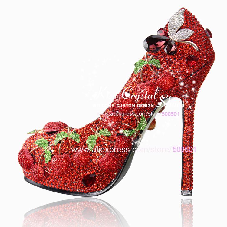 designer red wedding shoes - photo #7