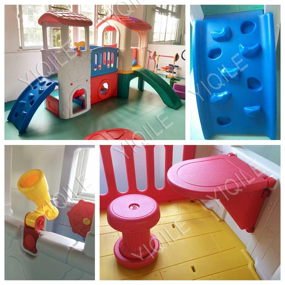 kunststoff spielhaus mit rutsche gleiten produkt id 514633162. Black Bedroom Furniture Sets. Home Design Ideas