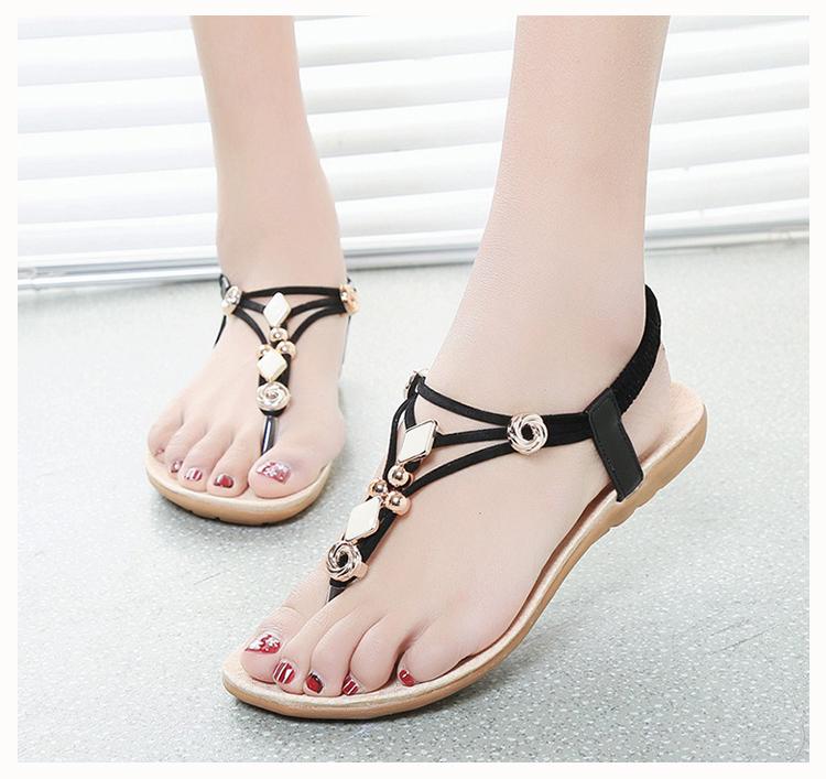 c38f0c59f6e7b Wholesale Women S Sandals 2016 Summer Flats Sandals Bohemia Style ...