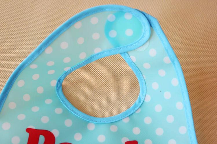 Детские младенческая малышей мультфильм полотенце трехмерной нагрудники окружающей среды прозрачный карман еда