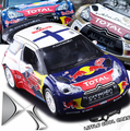 New origin 1 26 Citroen C4 DS3 WRC car model Racing kids toy pull back sound