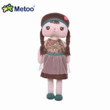 Плюшевые игрушки для девочек, 41 см, в виде мультяшных животных, подарок на день рождения, Рождество, Angela Rabbit, кукла для девочки Metoo(Китай)