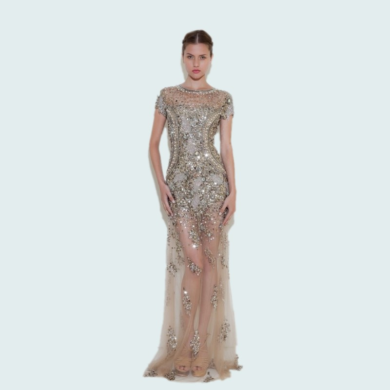 Long Sleeve 20s Dress