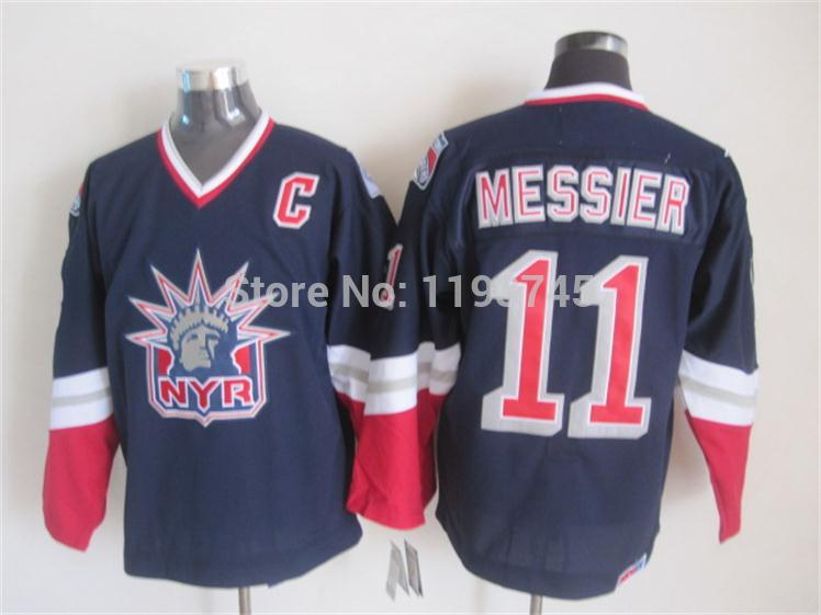 34670f93a ... Liberty Winter Classic CCM Best Evaluation Hot Sale Mens New York Rangers  Jerseys 11 Mark Messier Dark Blue CCM ...