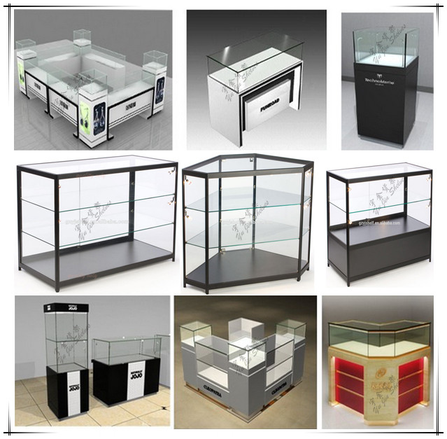 Gzyj Gs001 Aluminum And Glass Display Cabinets Glass