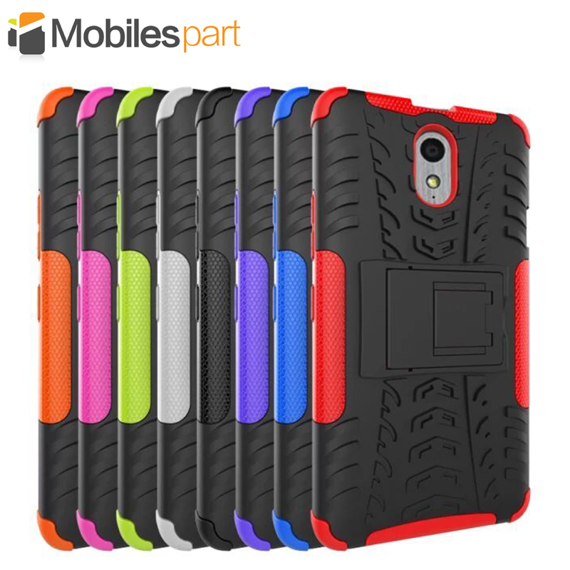 on sale e1cbf 9f097 Lenovo Vibe P1M Case High Quality with holder Protective TPU+Hard Back Case  Cover for Lenovo Vibe P1M Smartphone Free Shipping