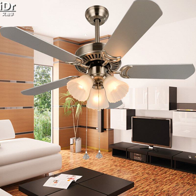 Ceiling Fans With Lights For Living Room: Modern Minimalist Living Room Ceiling Fan Light Fan Lights