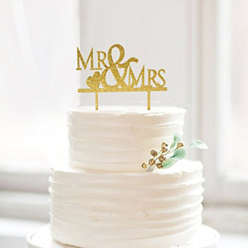 Bling Out Wedding Cake Toppers