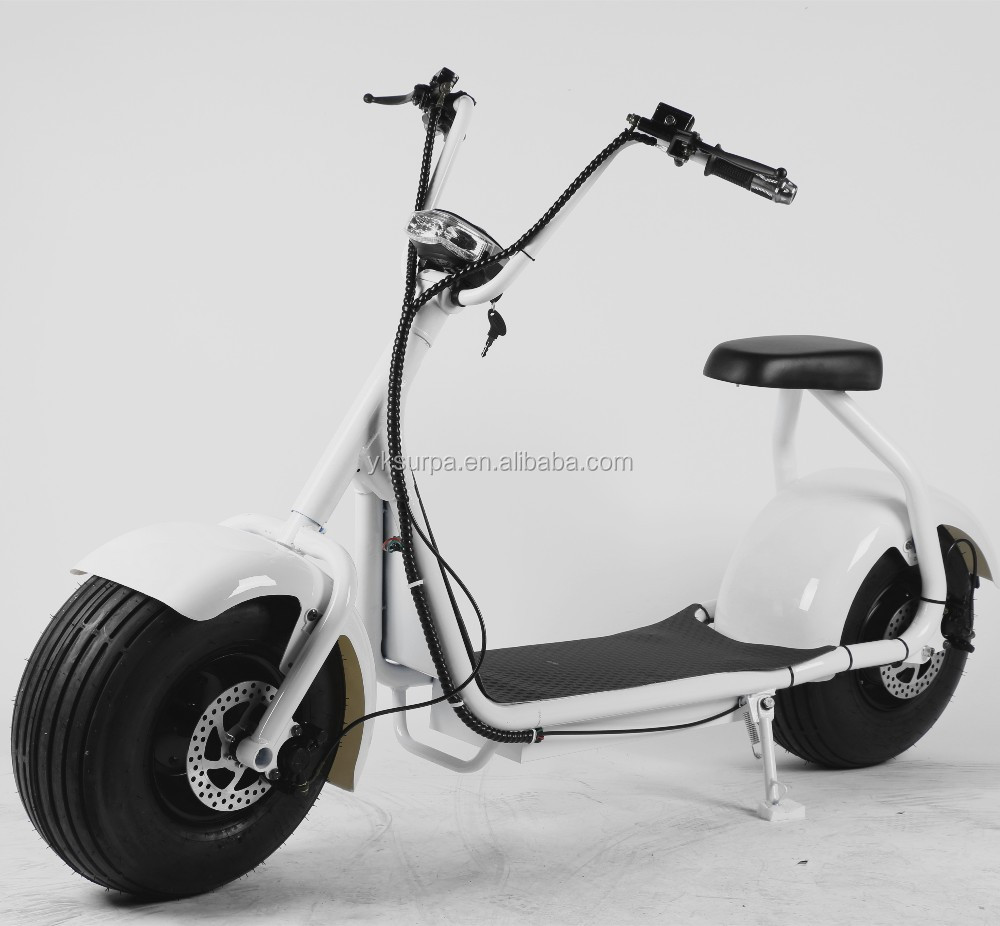 1000w60v citycoco seev woqu lectrique fat tire scooter v lo pas cher escooter scooter. Black Bedroom Furniture Sets. Home Design Ideas
