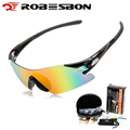 ROBESBON Road Cycling Glasses Gafas Ciclismo Men Women Bicycle Goggles Eyewear UV400 Outdoor Sports Fishing Sunglasses