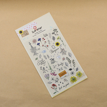1 Pc / Pack Kawaii Stickers Cute The Sertet Garden Deco Sticker/note Sticker/message Sticker/decoration Label/wholesale