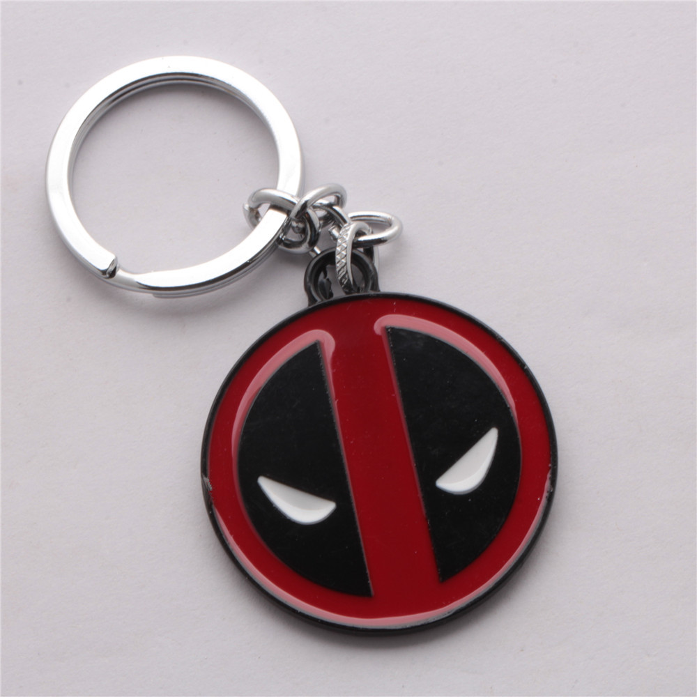 Cartoon Alloy 2016 Marvel Deadpool Medol Toys Boy Alloy Anime Cartoon X men Action Figure Keychain