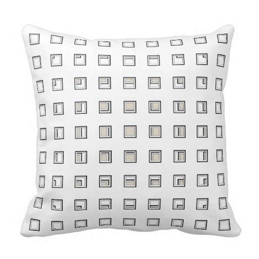 Medium Artsy Classy Bone Pillow Case (Size: 20
