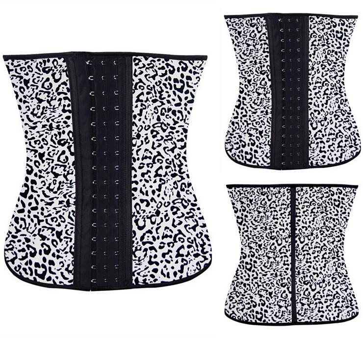 4ebbe21a529d0 2015 NEW Mixed Waist Training Cincher Underbust Corset Steel Boned Body  Shaper Shapewear latex rubber Corset S-3XL Women girl
