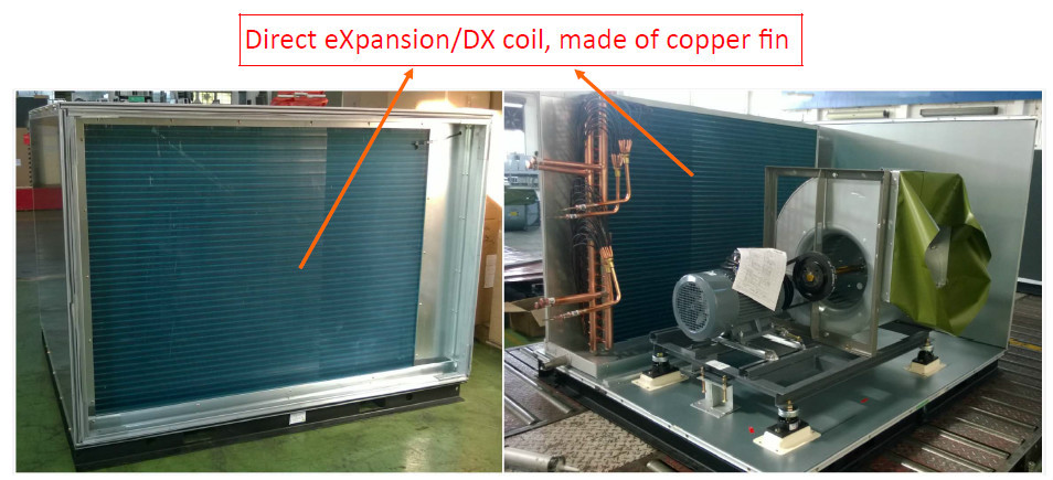 Hvac Type Air Handling Unit Ahu With Direct Expansion Dx