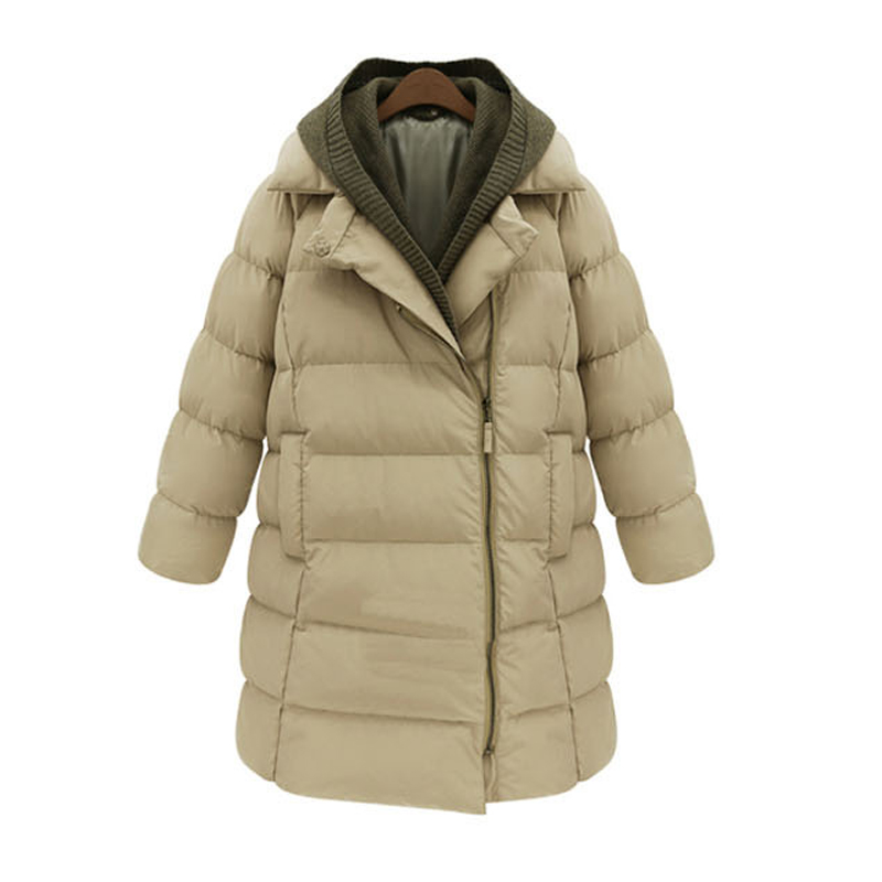 NEW arrived winter maternity down jackets hooded thickening warm fashion down coats for pregnant women large