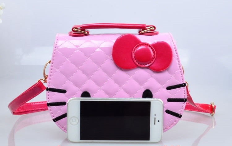 Wholesale 2016 Cute Hello Kitty Kids Small Shoulder Bag High Quality ... d2184f84764bd