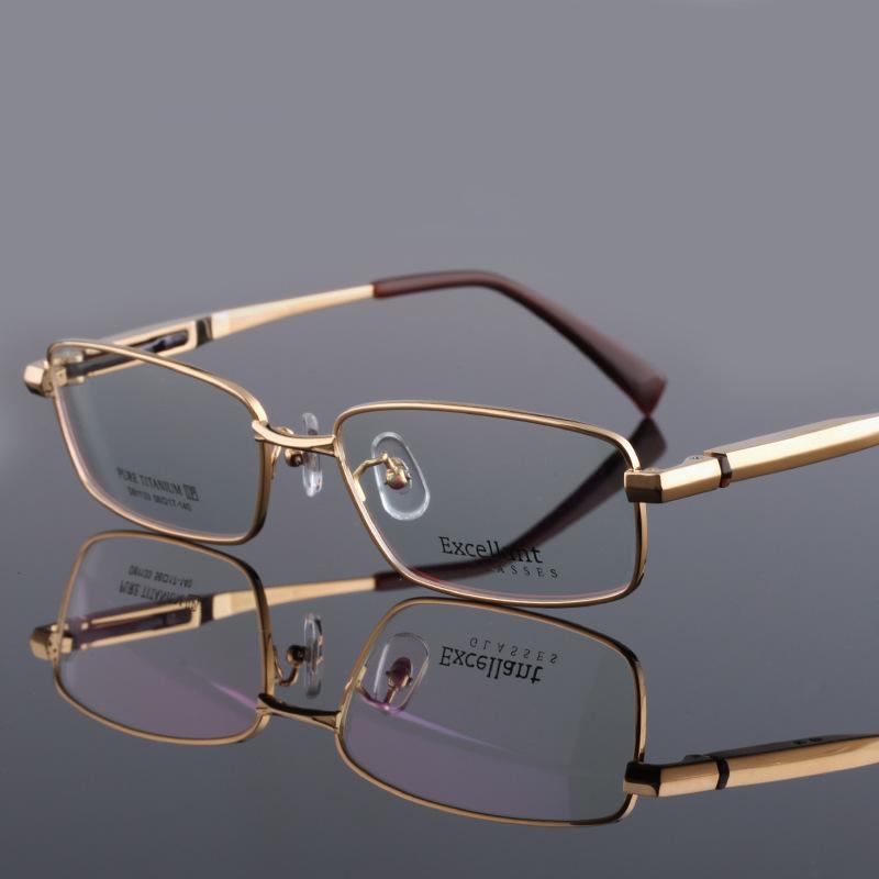 7a7d770548e Popular Gold Glasses Frames-Buy Cheap Gold Glasses Frames lots from China  Gold Glasses Frames brand designer sports titanium ...