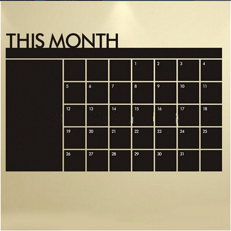Achetez en Gros Craie calendrier sticker en Ligne à des