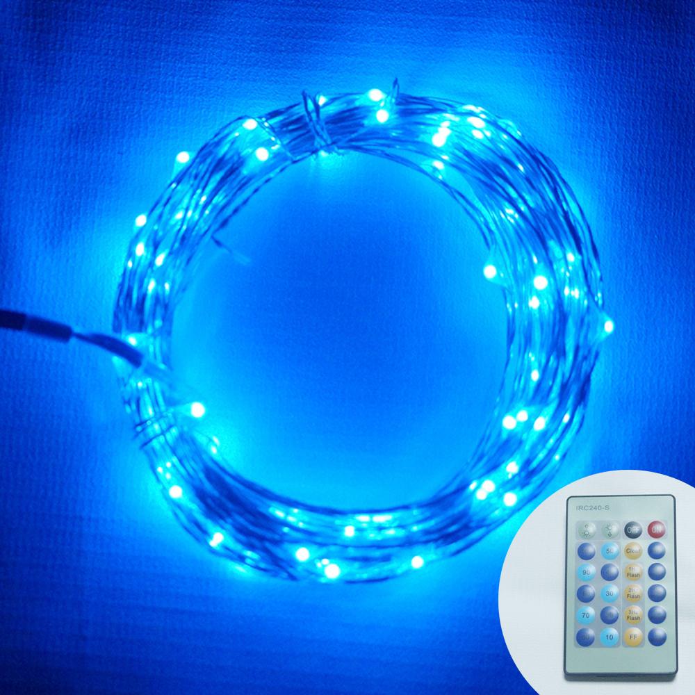 Remote Control 10m 100led Mini Copper Wire String Lights