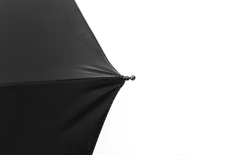 Fashion 3 Fold Automatic Women Umbrella Sun Rain Anti-UV Windproof Male  Umbrella Black Ultra-light Mini Umbrella Parasol - us105 1cfa714f109