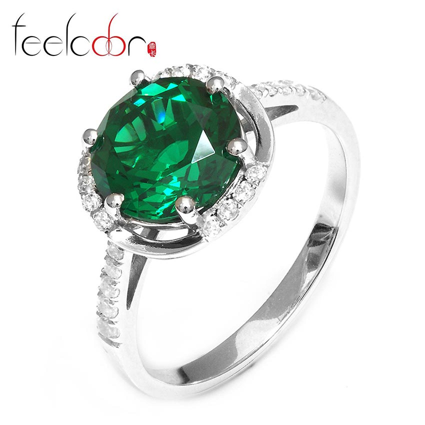 Wedding silver ring for women
