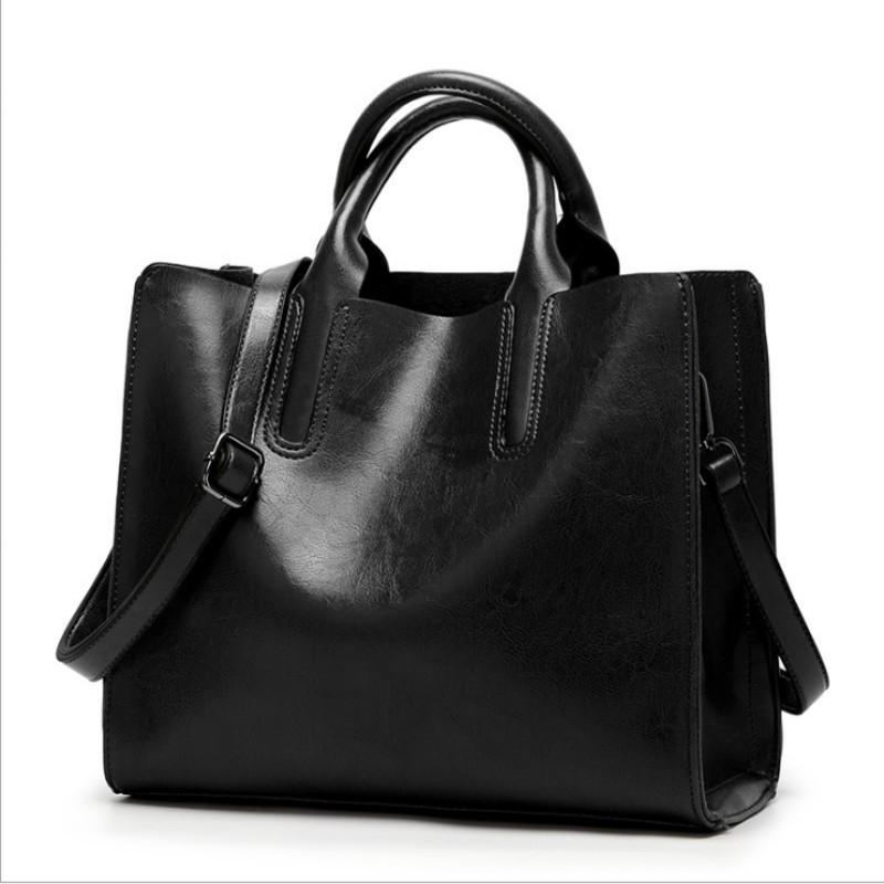Женские сумки из 100% натуральной кожи, новинка 2020, сумки через плечо, простые сумки, портфель, сумка-мессенджер(Китай)
