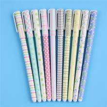 Гелевые ручки, кавайные канцелярские принадлежности, корейские Цветочные канеты, офисные материалы, школьные принадлежности(Китай)