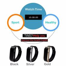 TW07 Smart Bracelet Bluetooth Watch Smartband Waterproof Sports Fitness Smart Band Smart Wristband Pulsera Inteligente mobile ph