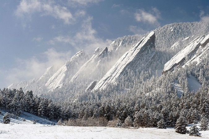 winter nature landscapes Scenery Poster Home Decoration Printing Silk Wall Poster -High quality Picture Print 24x36inch