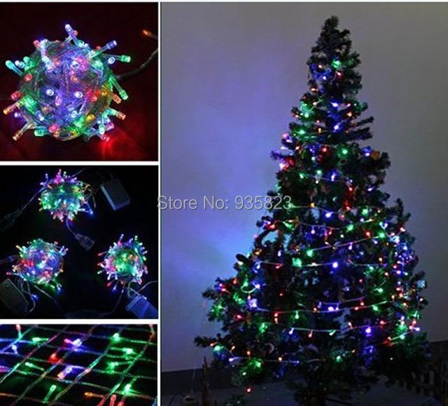 Led Christmas Lights Color.Christmas Lights 300 Multi Color Led Lights With Eight