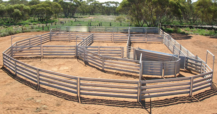 Galvanized Farm Fence New Products Sheep Yard Panels, View