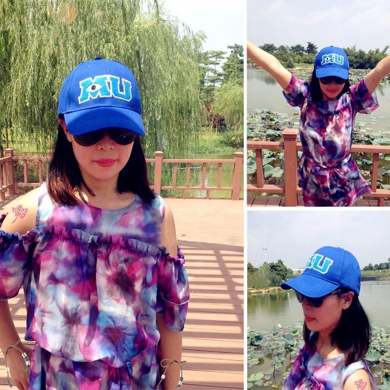 Monsters University Sulley Mike Baseball Caps Mu Letters Unisex Pixar Movie Blue Hat Adjustable Hip Hop Caps Snapback Hat Cap Snapback Hats Snapback Hatshop Cap Aliexpress