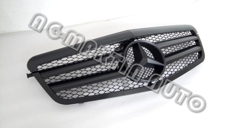 matt black w212 facelift car front bumper radiator mesh. Black Bedroom Furniture Sets. Home Design Ideas