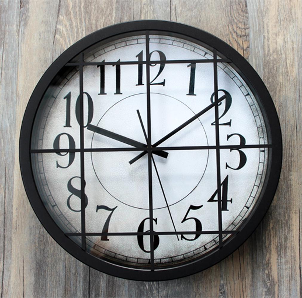 horloge murale industrielle achetez des lots petit prix horloge murale industrielle en. Black Bedroom Furniture Sets. Home Design Ideas