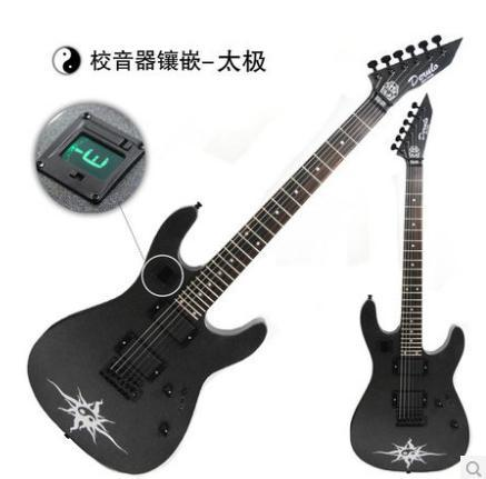 top quality 2014 new the thunder sword beginners electric guitar built in tuner in guitar from. Black Bedroom Furniture Sets. Home Design Ideas