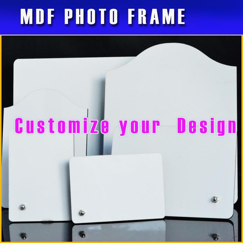 livraison gratuite sublimation mdf cadre flans blancs mat riaux en bois cadre photo grande. Black Bedroom Furniture Sets. Home Design Ideas