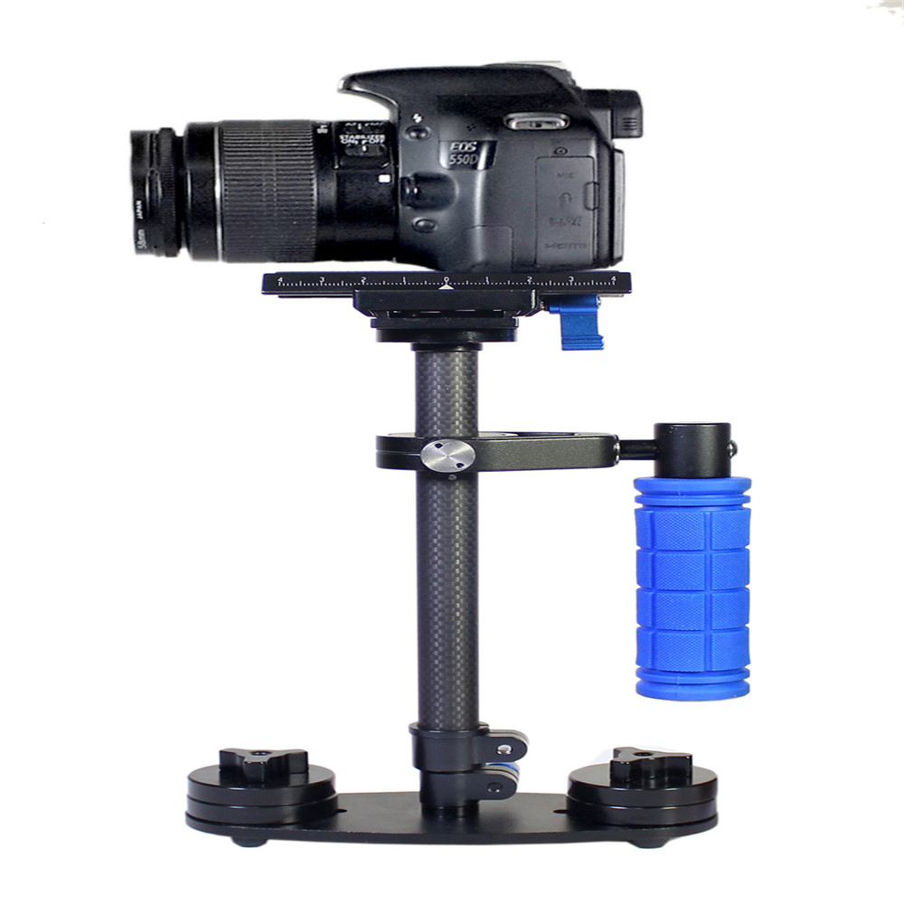 Free Shipping Carbon Fiber DSLR S-40C Video Camera Stabilizer For DSLR Camera