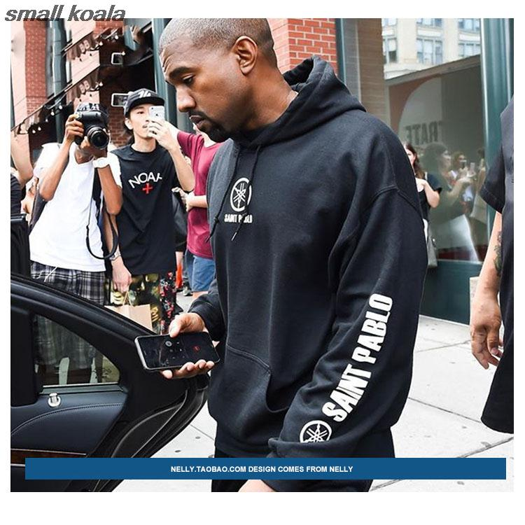 3a9cefa2797 2019 Hoodie Men Hip Hop For Big Man Tracksuit Kanye West Tour Season ...