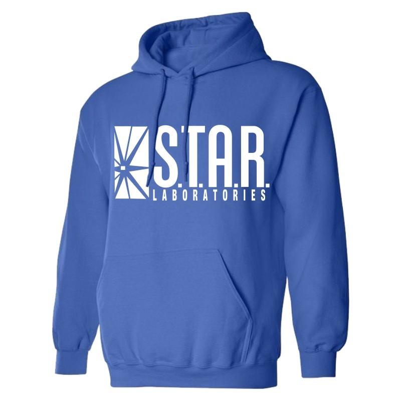 Großhandel Großhandel Star Lab Printing Männer Hoodie Schwarz ... 0c0c932b80