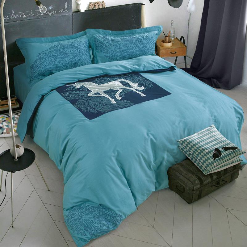 achetez en gros licorne couette en ligne des grossistes. Black Bedroom Furniture Sets. Home Design Ideas