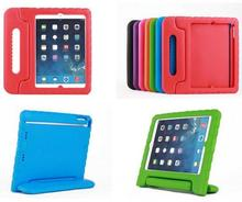 Portable Kids lovely  shockproof drop resistance eva foam mount stand hand-held case cover for apple ipad mini 1/2/3 Tablet