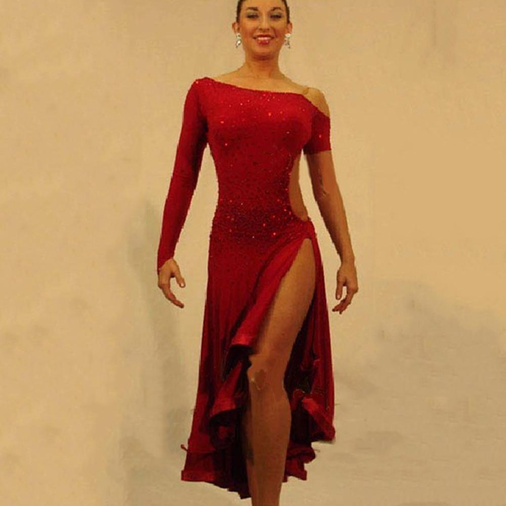 2016 Latin Dance Dress For Girls Ballroom Dance Dress ...