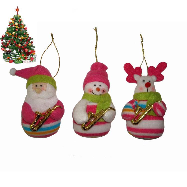 3Pcs=1Lot Christmas Decorations Hot Selling Santa+Snowman