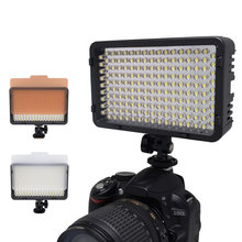 Professional 168 LED Studio Video Light shooting light for DV Camcorder & Canon Nikon Pentax Sony Olympus DSLR Camera VS CN-160