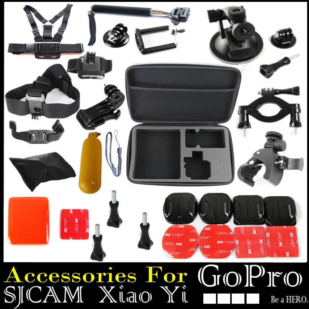 Gopro Accessories Professional Tripod For Camera Go Pro Hero 2 3 4 SJ 4000 5000