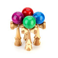 High Quality Sport Fun Bamboo Toy Kendama Juggling Ball Game Toy Gift For Children Traditional Toy